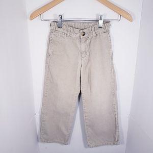 Boy's JANIE AND JACK Tan Corduroy Pants  5T